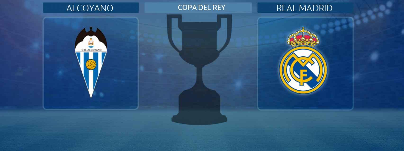 Alcoyano - Real Madrid, partido de la Copa del Rey