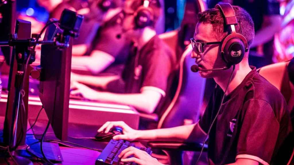 Una concentración de jugadores de videojuegos en una imagen de archivo.