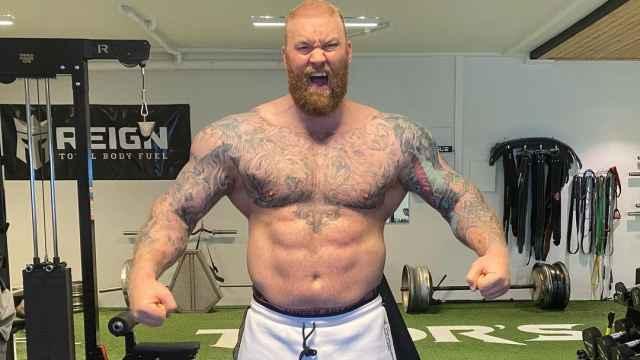 El 'strongman' Hafthor Bjornsson, la 'Montaña' de Juego de Tronos