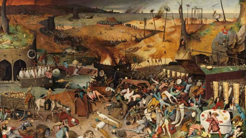 El triunfo de la muerte, de Pieter Bruegel el Viejo (1562-63).