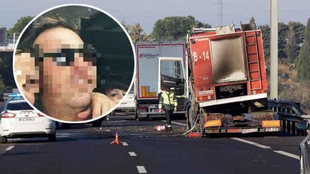 Alberto, el camionero ejemplar que murió con otros dos ayudando a un compañero en la A-62