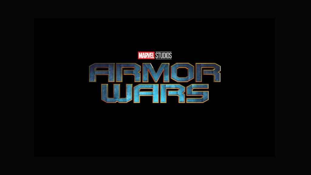 'Armor Wars', cartel promocional.