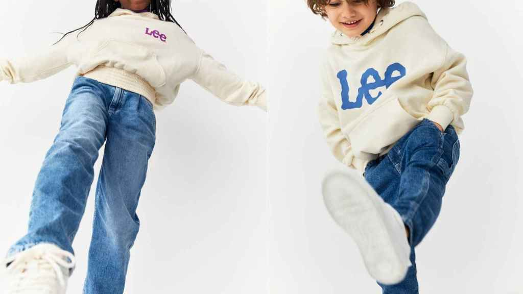 La colección para niños de Lee x H&M está inspirada en el estilo de los 80's y 90's.