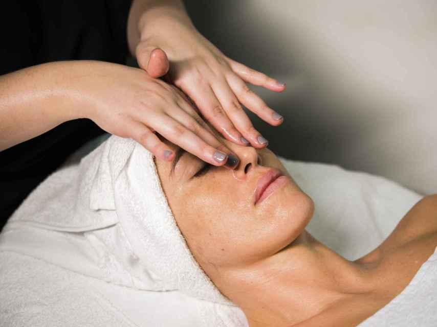 Oxigenoterapia facial.