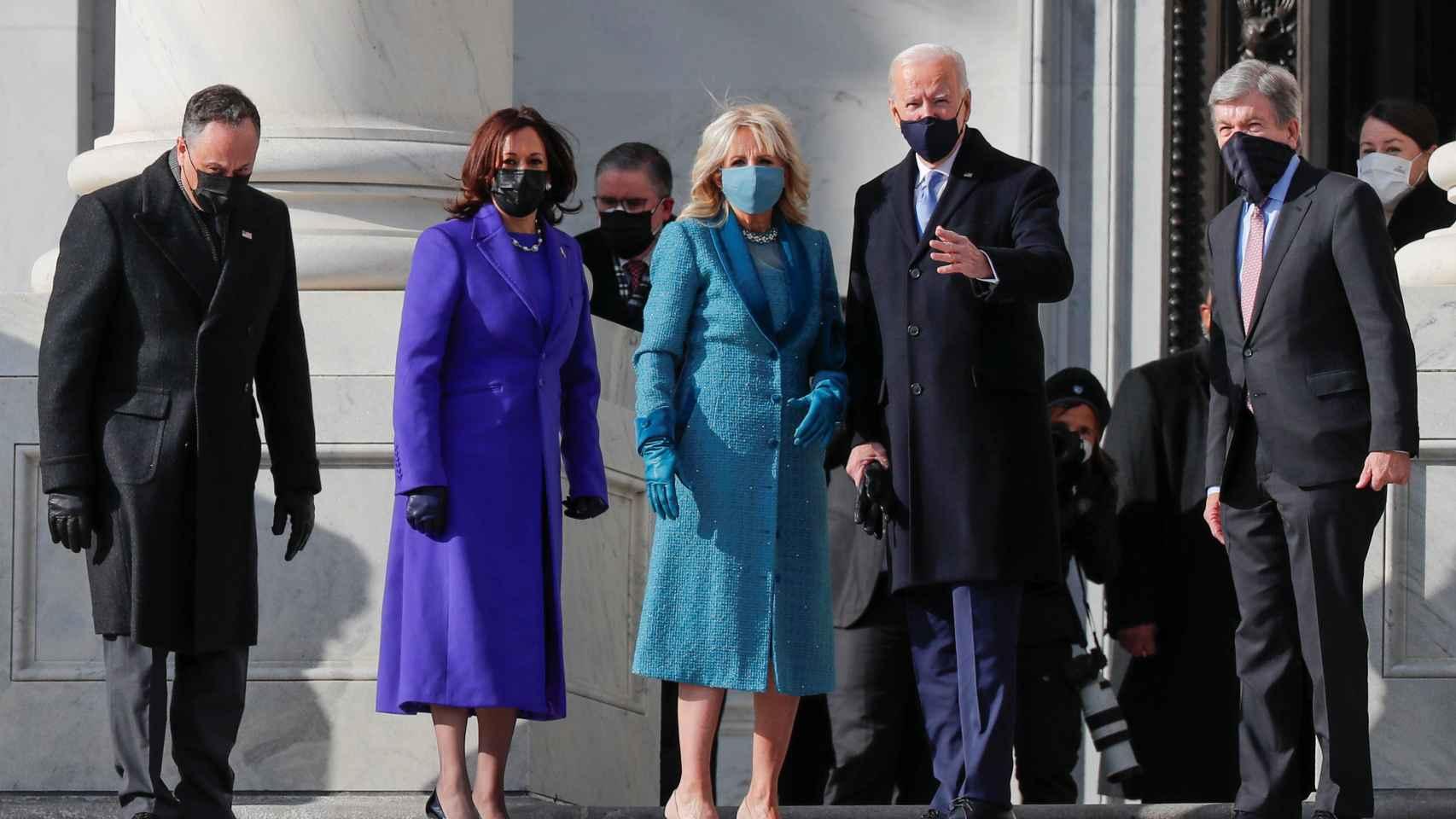 Última hora | Joe Biden llega al Capitolio para jurar como presidente de Estados Unidos