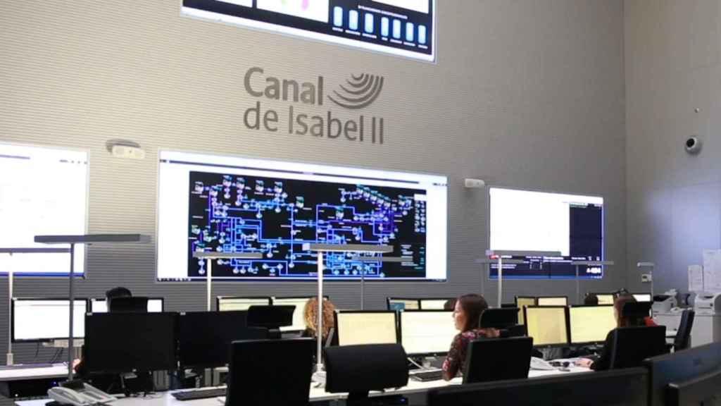 Centro de control del Canal de Isabel II
