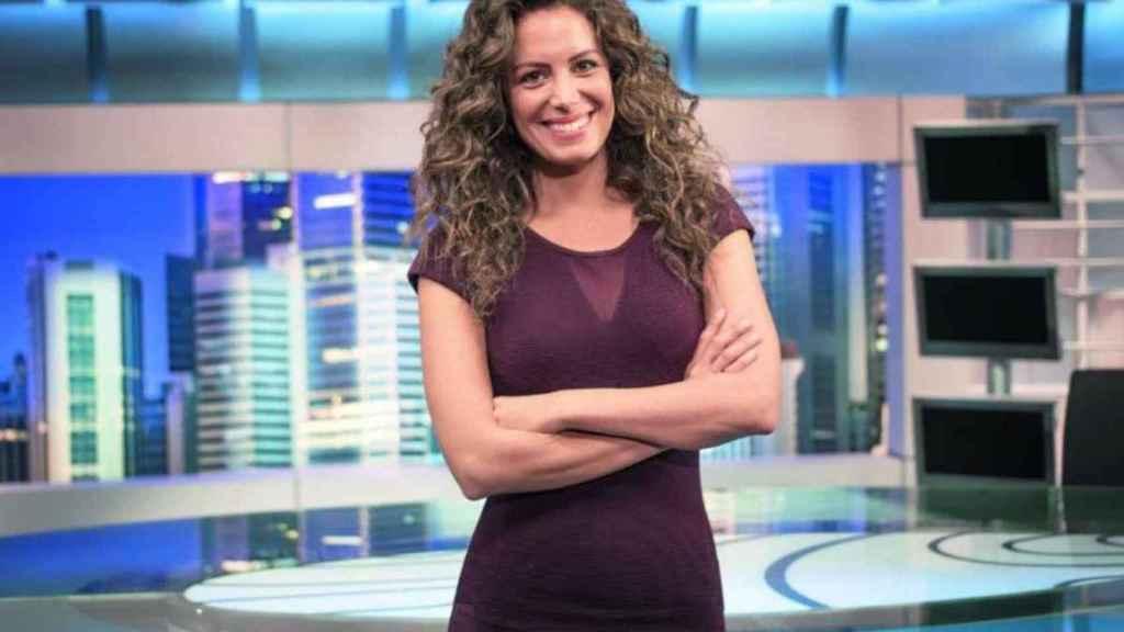 Laura Madrueño ha cubierto durante varios días la borrasca Filomena en Telecinco.