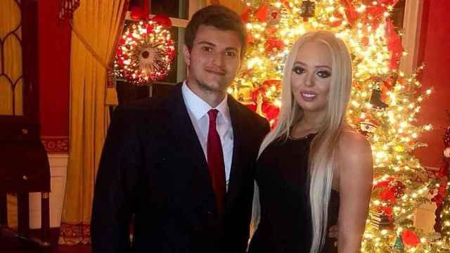 Michael Boulos y Tiffany Trump, en una imagen comaprtida en redes sociales.