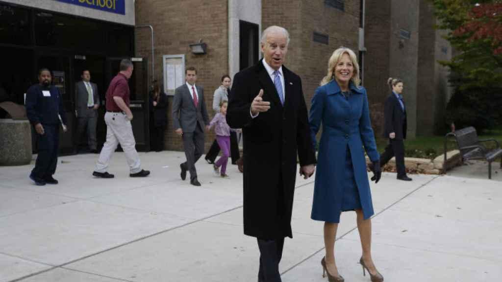 Joe y Jill Biden, en una imagen de 2012.
