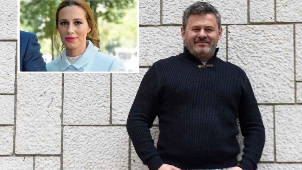 Miki Nadal y su exmujer Carola Escámez en montaje de JALEOS.