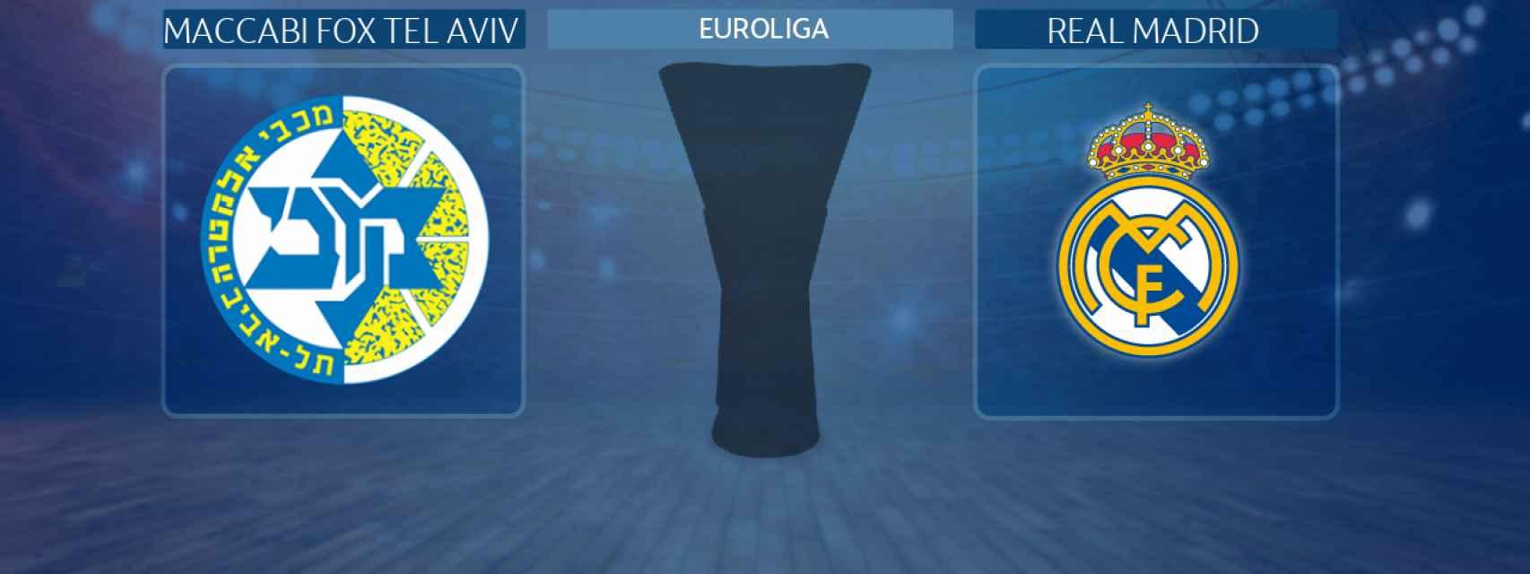 Maccabi Fox Tel Aviv - Real Madrid, partido de la Euroliga