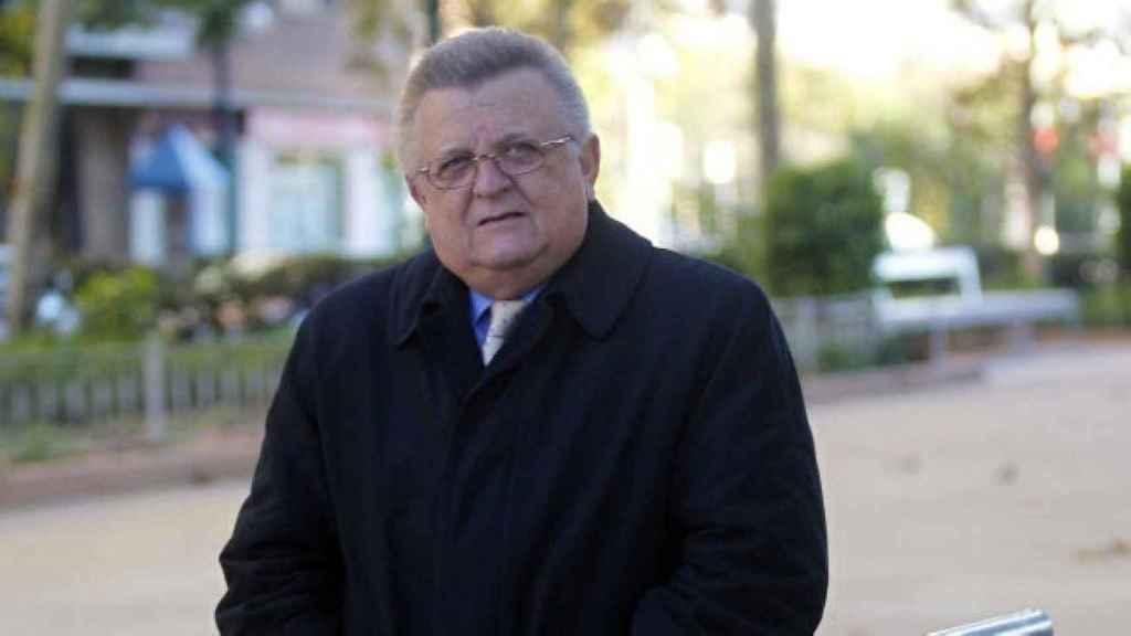 Pedro Cortés, expresidente del Valencia CF y delegado de la Selección Española. EFE
