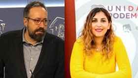 Juan Carlos Girauta y Dina Bousselham