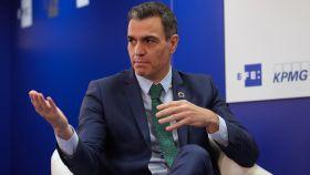 Pedro Sánchez, jefe de Gobierno, da la bienvenida a Joe Biden, nuevo presidente de EEUU.