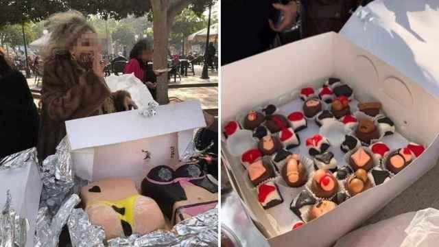 Imágenes de los pasteles eróticos que han escandalizado al gobierno egipcio.