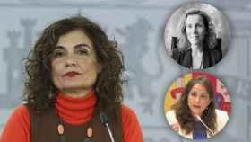 María Jesús Montero, Esperanza Teba Samblás y Rocío Frutos Ibor.