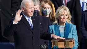 Joe Biden jura su cargo como presidente de Estados Unidos.