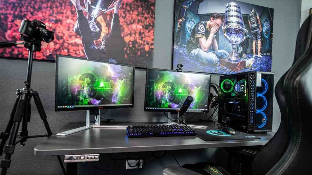 'Setup' para retransmitir videojuegos.