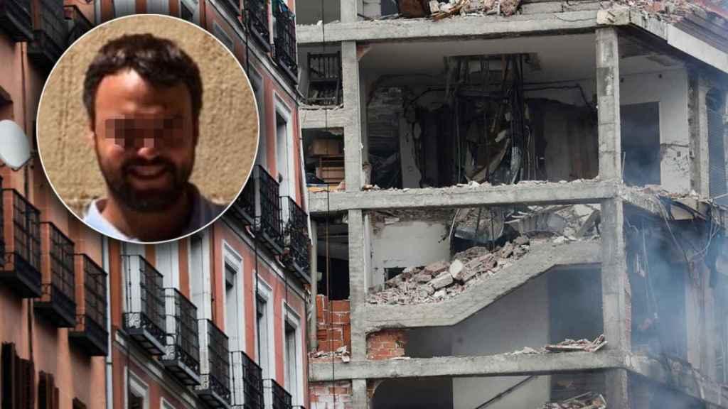 David, electricista muerto en la explosión de Madrid.