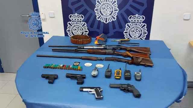 Detención de los vigilantes en Estepona