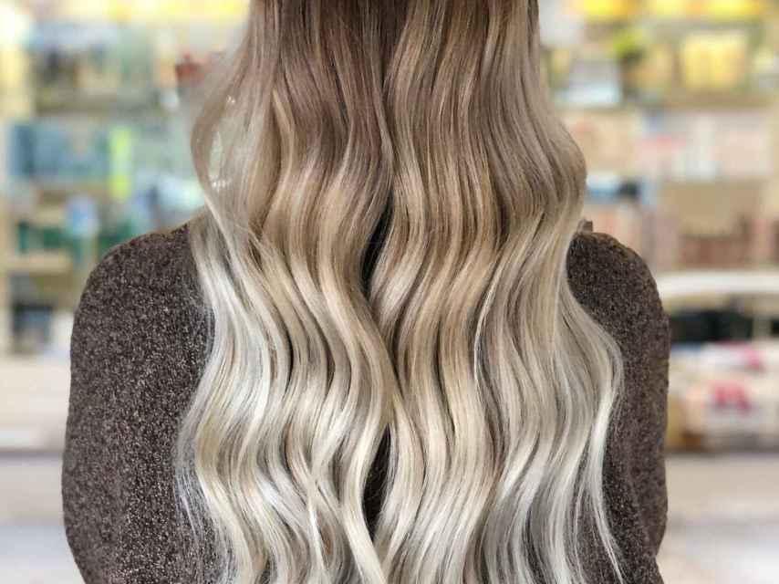 'Melting Blonde', una de las transiciones de color más demandadas.