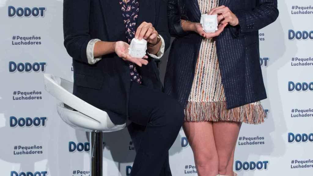 Fabiola Martínez y Eugenia Ortiz en 2018.