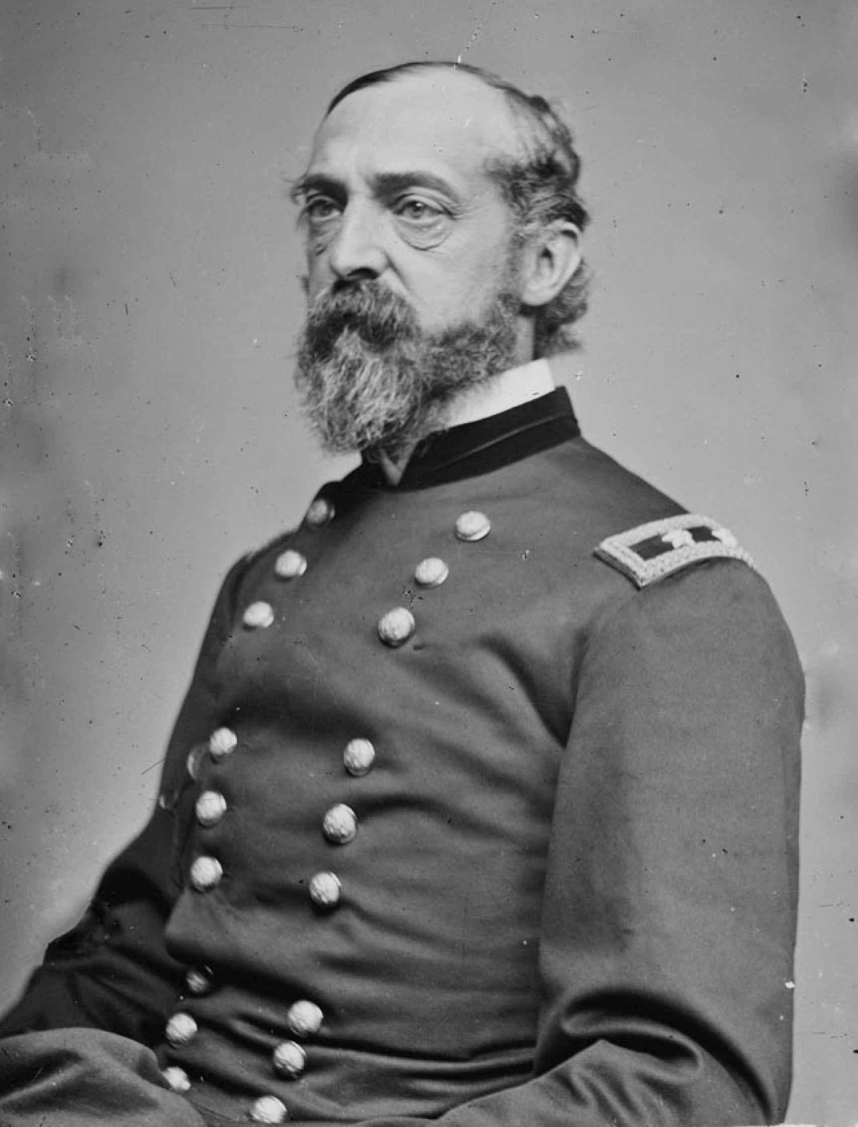 George Gordon Meade, nacido en Cádiz y protagonista en la batalla de Gettysburg.