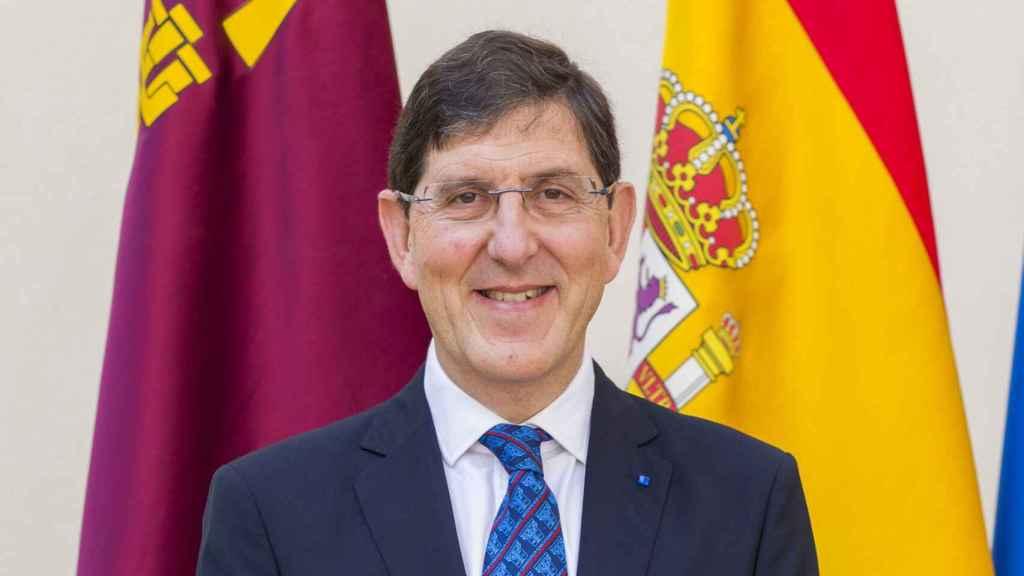 Manuel Villegas, consejero de Salud de Murcia.