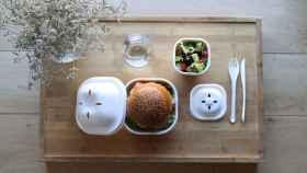 Eko Burger Set,  disfruta de tus hamburguesas sin dejar residuos plásticos