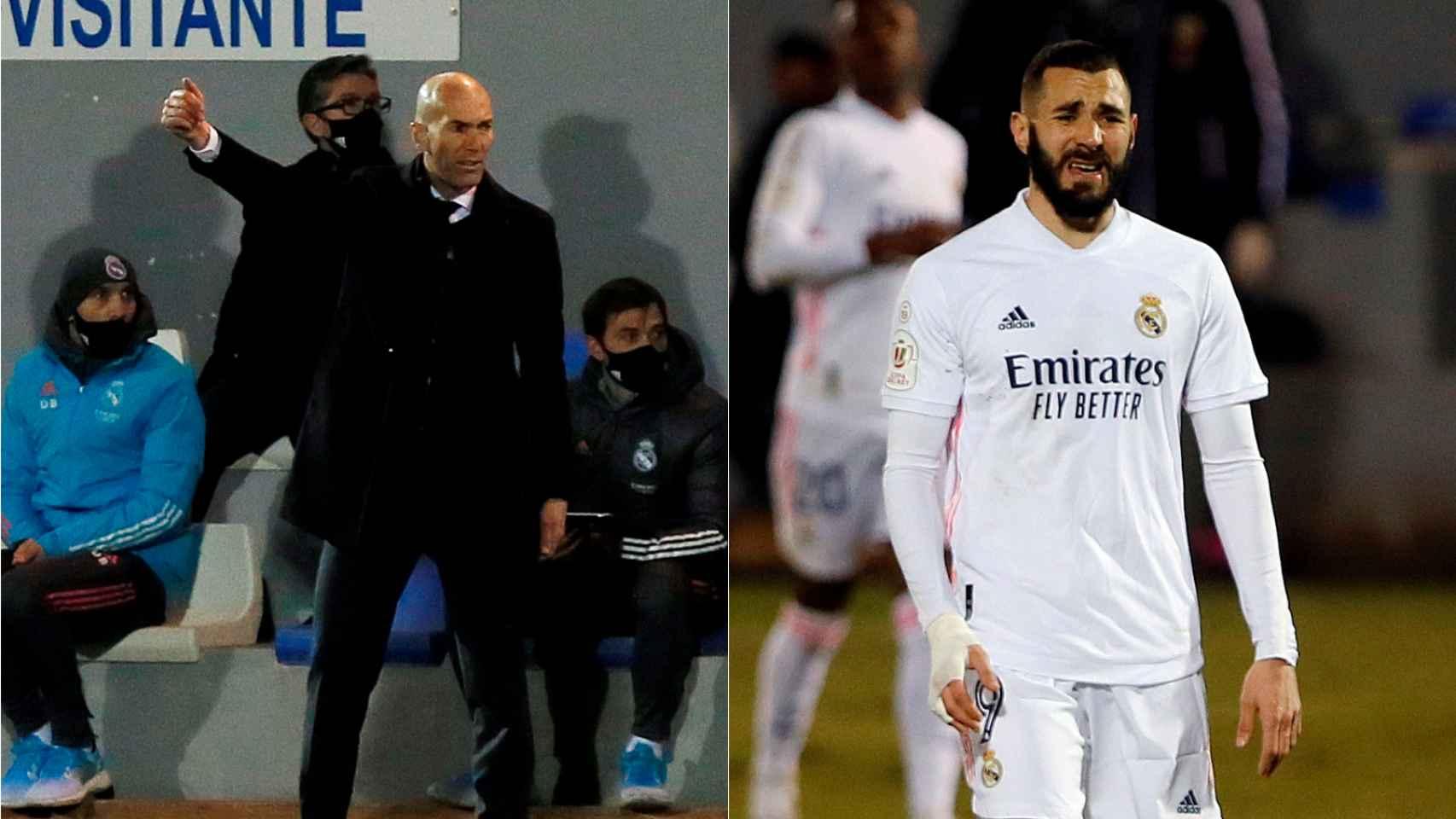 Las imágenes del mundo del deporte: el fracaso del Real Madrid en la Copa del Rey que deja muy tocado a Zidane