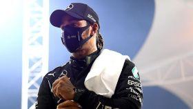 Hamilton en el GP de Bahrein de Fórmula 1