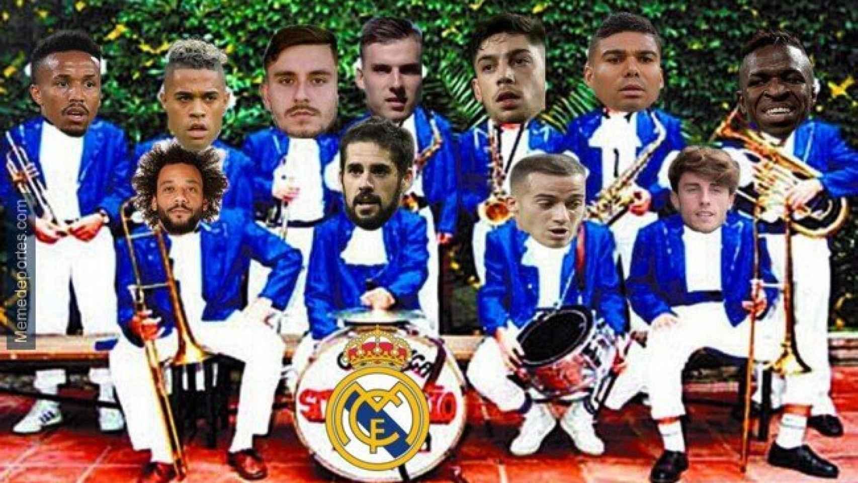 Meme del Alcoyano - Real Madrid de la Copa del Rey