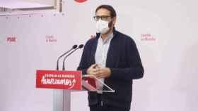 Sergio Gutiérrez, en rueda de prensa