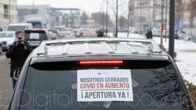 Protesta de los hosteleros en Albacete. Foto: El Digital de Albacete