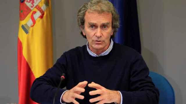El director del Centro de Alertas y Emergencias (CCAES), Fernando Simón, este jueves.