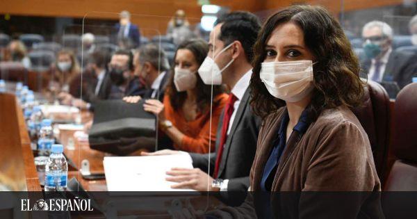 Isabel Díaz Ayuso, a Podemos:  Van de pobres con causas que no han vivido en toda su vida
