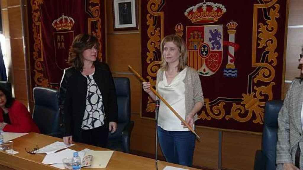 La alcaldesa de Molina de Segura, Esther Clavero Mira.