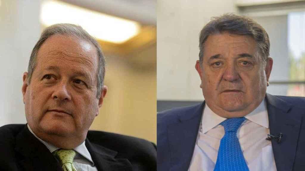 Victor Moreno Catena (izqda) y Gonzalo Quintero./
