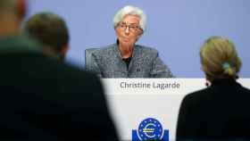 La presidenta del Banco Central Europeo, Christine Lagarde