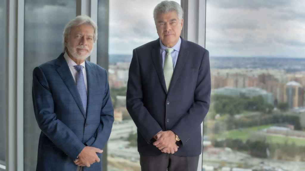 D. Luis Amodio y D. Mauricio Amodio, presidente y consejero dominical de OHL