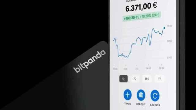 La nueva tarjeta de débito de Bitpanda.