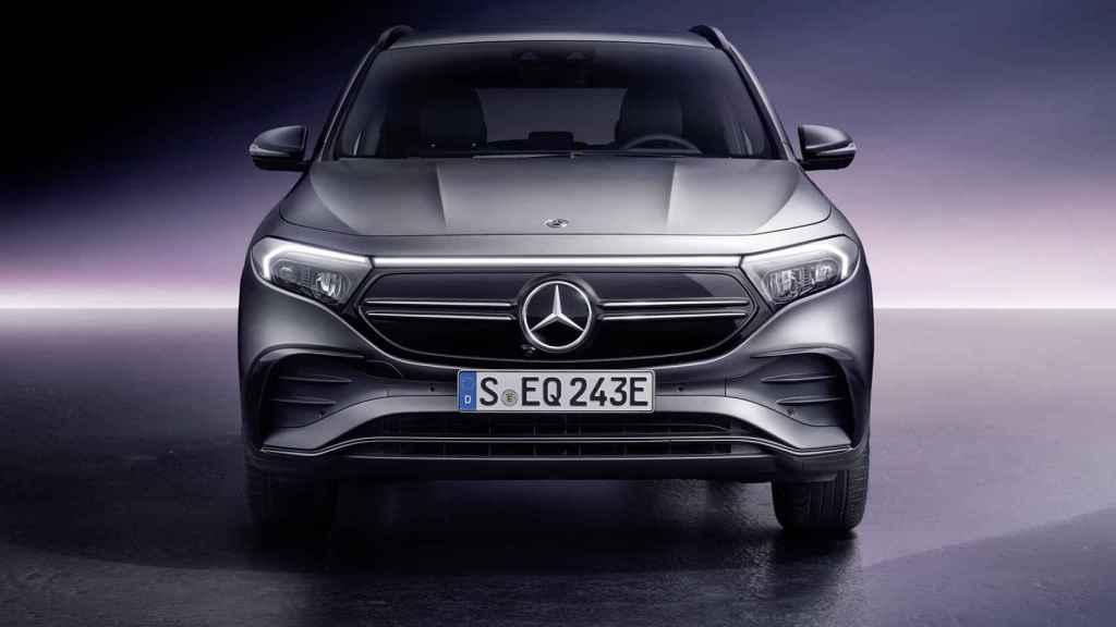 El Mercedes EQA está basado en el GLA.