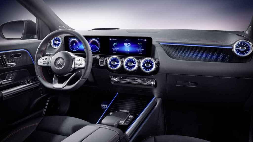 Interior del nuevo Mercedes EQA.