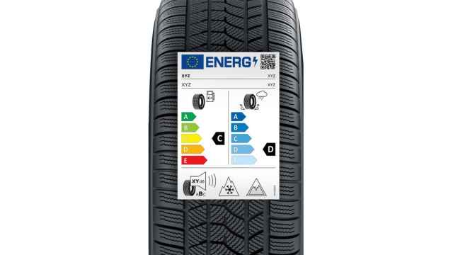 Así serán las nuevas etiquetas de los neumáticos.