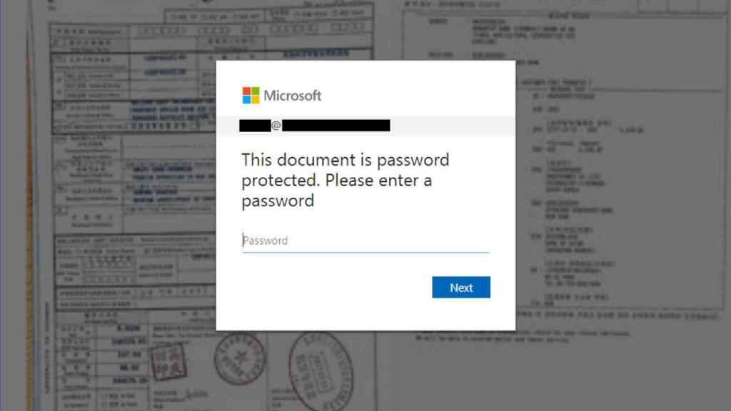 Ejemplo de correo falso que pide la contraseña del usuario