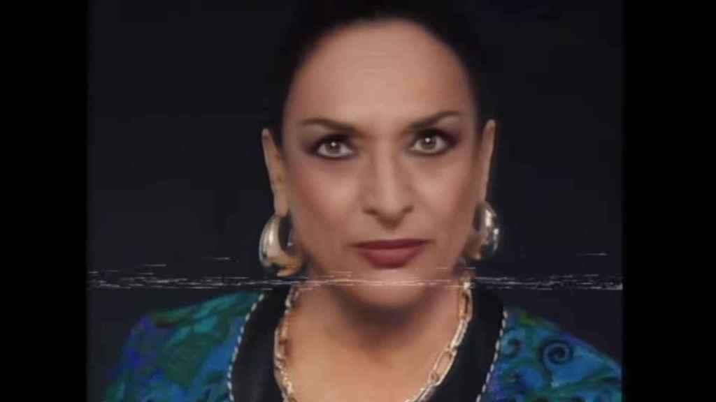 Lola Flores, en el anuncio de Cruzcampo