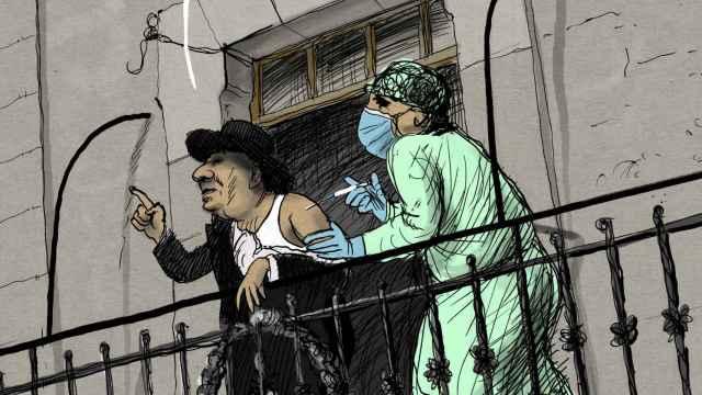 La vacunación del alcalde