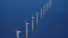 FILE PHOTO: FILE PHOTO: General view of the Walney Extension offshore wind farm operated by Orsted off the coast of Blackpool