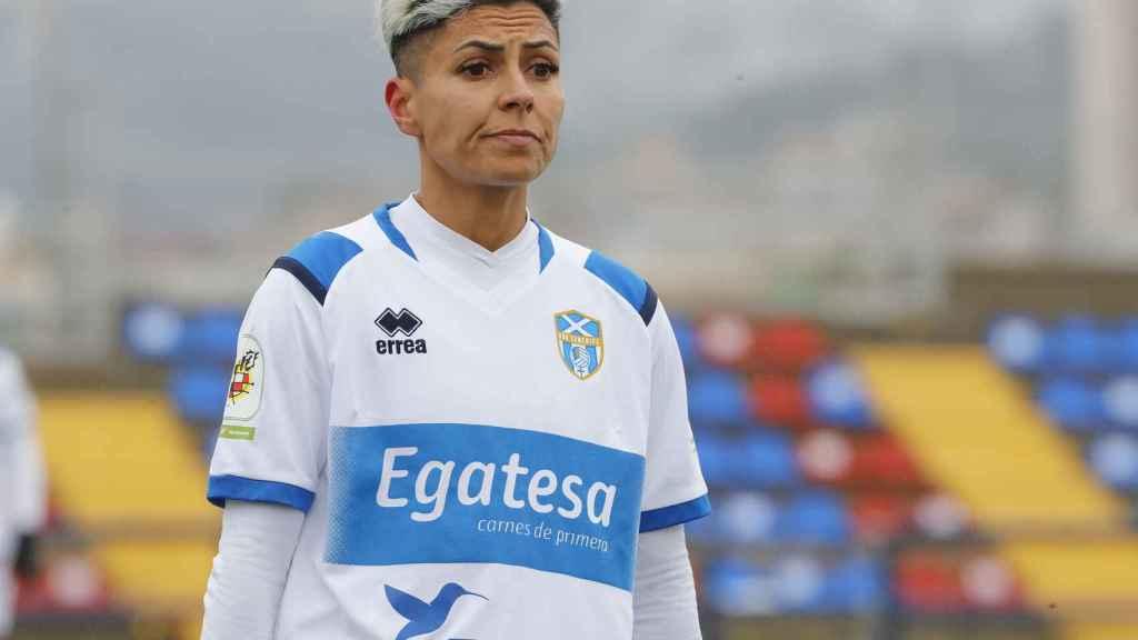 María José Pérez, jugadora del Granadilla