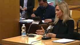 Cristina Cifuentes declara en la Audiencia Provincial de Madrid.